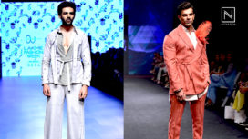 Designers and their Showstoppers - Kartik Aaryan and Karan Singh Grover