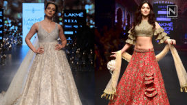 Designers and their Showstoppers - Kangana Ranaut and Tamannaah Bhatia