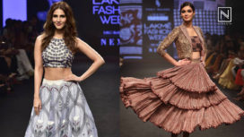 Designers and their Showstoppers - Diana Penty and Vaani Kapoor