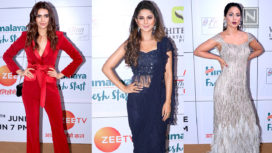 Star Studded Red Carpet of the Eleventh Edition of Gold Awards 2018