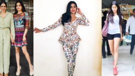 Top Five Contemporary Fashion Moments of Janhvi Kapoor