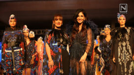 Pooja Chopra Walks for Pria Kataaria Puri at Bangalore Times Fashion Week 2018