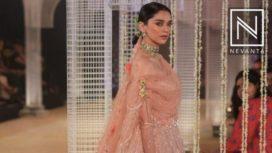 Aditi Rao Hydari looked mesmerising in a pink lehenga by Tarun Tahiliani at ICW