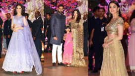 Best Dressed Celebrities at the Engagement Ceremony of Akash Ambani and Shloka Mehta