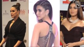 Blacks Rule The Minds of Bollywood Celebs on Red Carpets