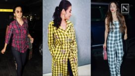 Here is Why Bollywood Celebs Swear by Checks