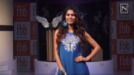 Miss United Continent 2016 Runner-Up Lopamudra Raut Walks for a Fashion Brand