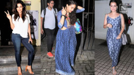 Watch Your Favourite Bollywood Celebrities Stepping Out in Style