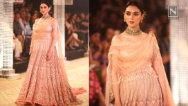 Aditi Rao Hydari Turns Muse to Tarun Tahiliani on Opening Day of India Couture Week 2018