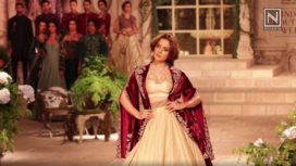 Kangana Ranaut Graces the Ramp for Anju Modi on Day 1 at India Couture Week 2018