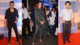 Celebs Come Together at the Screening of Chalo Jeete Hain