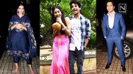 Celebs at the Screening of Dhadak to support Janhvi and Ishaan