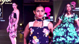 Budding Designers from DreamZone Present their Designs at Zingbi Fall Fashion 18