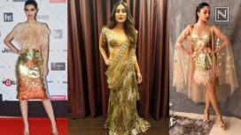 Gold Dress Moments by Celebrities that are Super Stylish