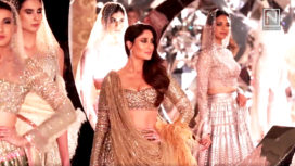 Kareena Kapoor Walks for Falguni Shane Peacock at India Couture Week 18