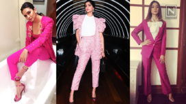 Celebrities Who have Rocked Pink Pantsuits Like No Other