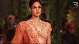 Rahul Mishra Presents his Colourful Couture Collection at India Couture Week 2018