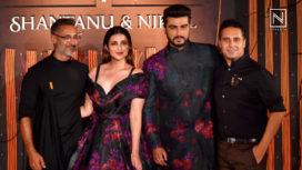 Parineeti Chopra and Arjun Kapoor Turn Muse for AW18 Collection of Shantanu & Nikhil