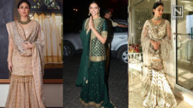 Bollywood Celebrities Who Sported Stunning Shararas