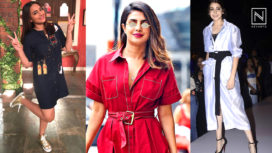 Bollywood Celebrities Stepping Out in Style with the Shirt Dresses