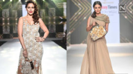 Designers and Their Showstoppers - Waluscha De Sousa and Anita Hassanandani