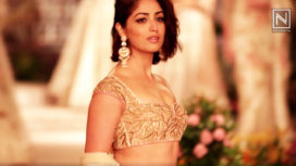 Yami Gautam Mesmerizes in Reynu Taandon at India Couture Week 2018