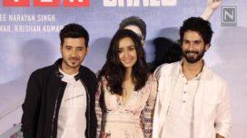 Shahid Kapoor and Shraddha Kapoor Promote Batti Gul Meter Chalu