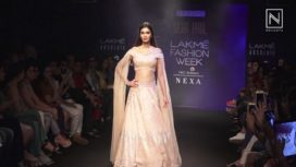 Diana Penty Goes Completely Bridal for Disha Patil at Lakme Fashion Week WF18