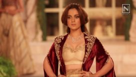 Meet the Victorian Queen Kangana Ranaut for Anju Modi at India Couture Week 2018