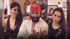 Saif Ali Khan Rings in Birthday with Close Family