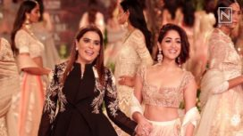 Designers and Their Showstoppers - Kiara Advani and Yami Gautam at ICW 2018