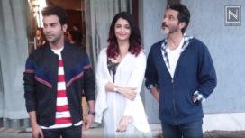 Aishwarya Rai, Anil Kapoor & Rajkumar Rao Promote Fanney Khan