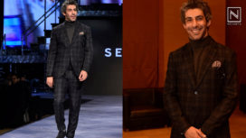 Jim Sarbh Takes the Ramp by Storm at a Fashion Show for a Clothing Brand