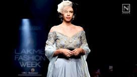 Kalki Koechlin Walks for Gaurav Katta's British Royal Era Collection at Lakme Fashion Week WF18