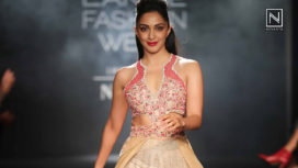 Neha Agarwal Brings Artisanal Fashion at Lakme Fashion Week WF18 with Kiara Advani