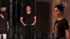 Behind the Scenes with Salman Khan and Katrina Kaif for Manish Malhotra's Show