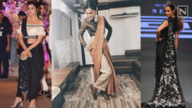 Glamorous Pant Saris that All the Bollywood Beauties are Getting their Hands on
