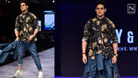 Priyank Sharma Turns Showstopper at a Fashion Show Featuring Casual Wear for Men