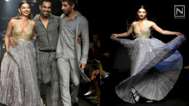 Radhika Apte and Jim Sarbh Turn Showstoppers for Punit Balana at Lakme Fashion Week WF 2018