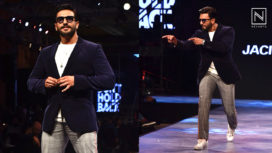 Ranveer Singh Charms with his Quirky Personality at a Fashion Show for a Clothing Brand