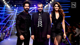 Shahid Kapoor and Disha Patani Turn Showstoppers for Amit Aggarwal at Lakme Fashion Week WF18