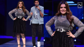 Shikha Talsania Proudly Represents Curvaceous Women at a Fashion Show