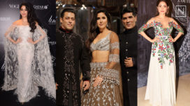 Celebrities Make Stunning Appearances at Manish Malhotra's Couture Show