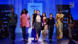 Soha Ali Khan Walks for Poochki at Lakme Fashion Week WF18