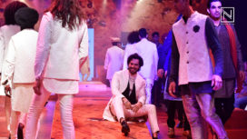 Varun Dhawan Goes Experimental for Kunal Rawal at Lakme Fashion Week WF18