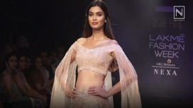 Diana Penty Spells Magic in Victorian Look for Disha Patil at Lakme Fashion Week WF18