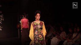 Divya Sheth Showcases at Lakme Fashion Week Winter Festive 2018