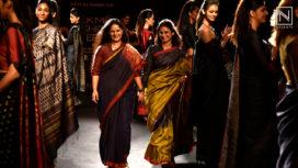 Rasika Dugal Elegantly Walks for Gunjan Jain at Lakme Fashion Week Winter Festive 2018
