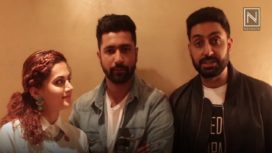 Here is the Fav Song of Abhishek, Taapsee and Vicky from Manmarziyaan
