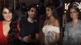 Bollywood Celebs at the Screening of Pataakha